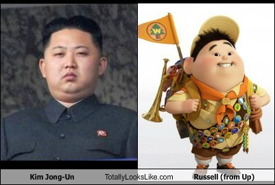 Kim Jun Un Looks Like Russell From The Movie Up
