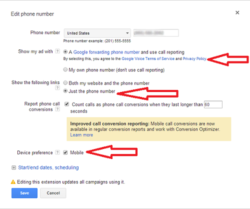 Google Adwords Click To Call Campaigns for Carlsbad Businesses