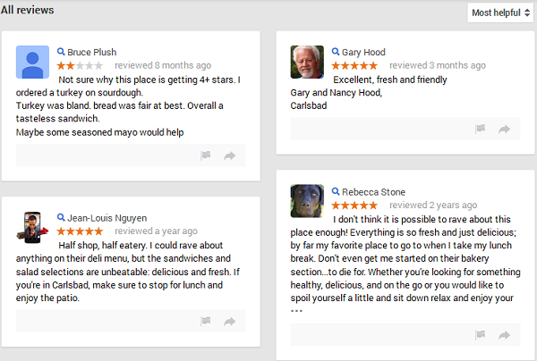 Gain More Reviews For Your Carlsbad Business With Local SEO