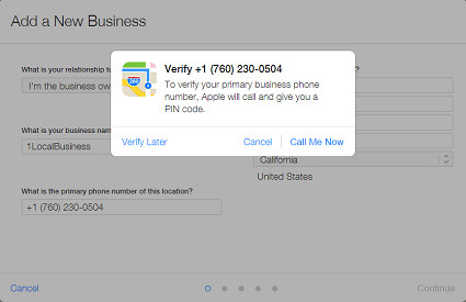 Verify your Carlsbad business on Apple Maps