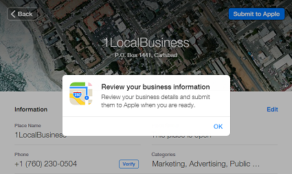 Apple Maps for Carlsbad Businesses