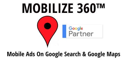 Mobile Advertising on Google Search and Google Maps for Small Businesses