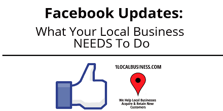 Facebook News Feed Updates What Local Businesses Need To Do