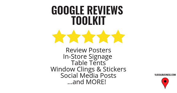 1LocalBusiness.com Google Reviews Toolkit