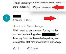 How Local Businesses Flag a Fake Review on Google Maps App