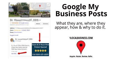 Google My Business Posts The Ultimate Guide