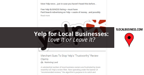 Do Local Businesses Need Yelp