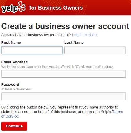 How to claim your Yelp Business page