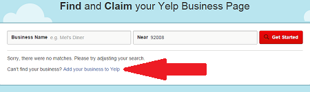 How to Verify Your Yelp Business page