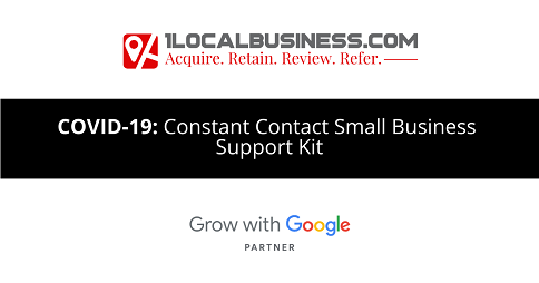 Constant Contact Small Business Support Kit